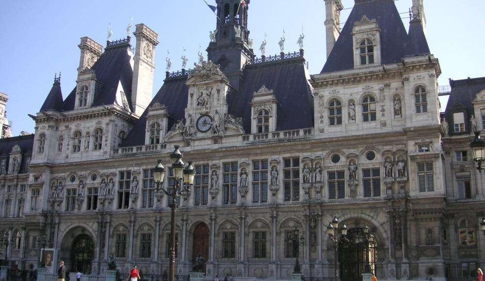 The Paris City Hall